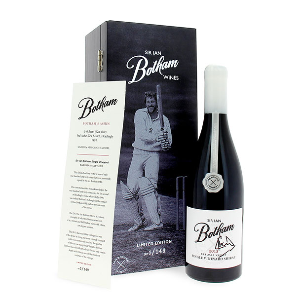 Wine Gifts Sir Ian Botham 149-BOX-SIGNATURE Wine