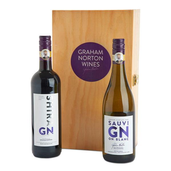 Wine Gifts GN-SHIRAZ-SAV-BLANC-TWIN-BOX offer