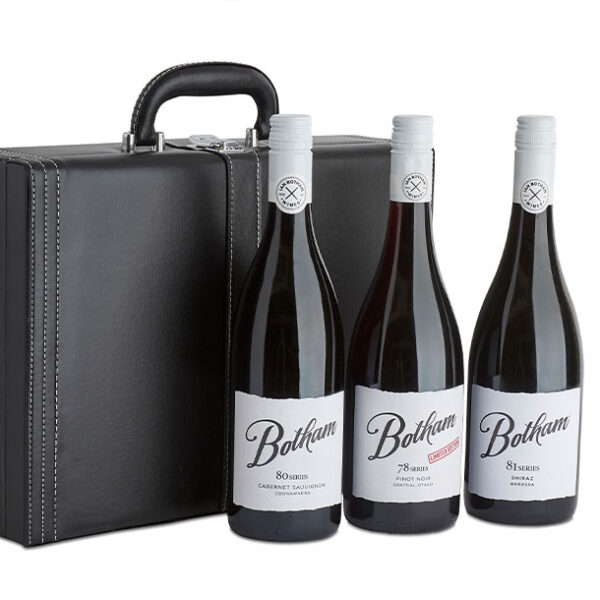 case of three Botham Wines