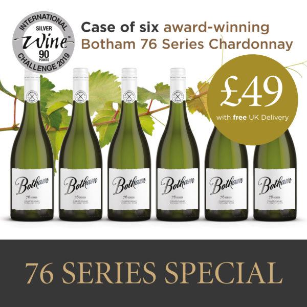 Botham 76 Series Chardonnay offer FREE Online Wine Delivered