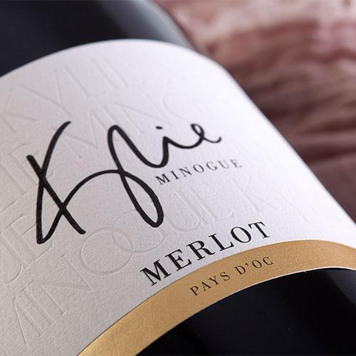 Kylie Minogue Merlot Label