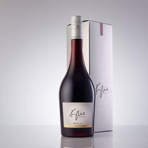 Kylie Gift Merlot in a gift box