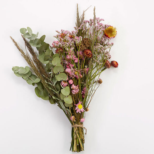 Juliet Bouquet Dried flowers - Bunch of flowers dried pink flowers