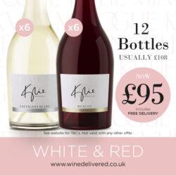 Kylie Sauvignon Blanc and Merlot offer