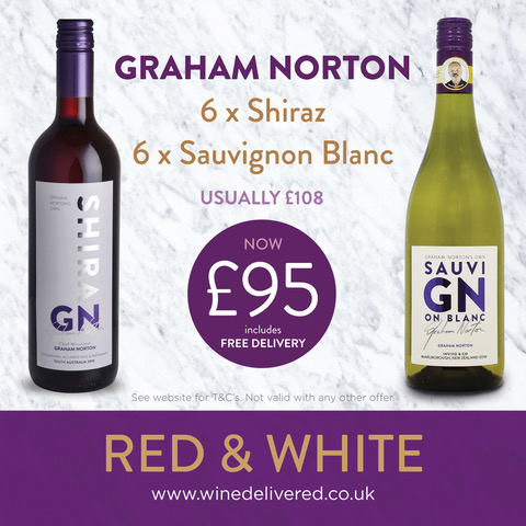 Graham Norton Mixed case of Red & White