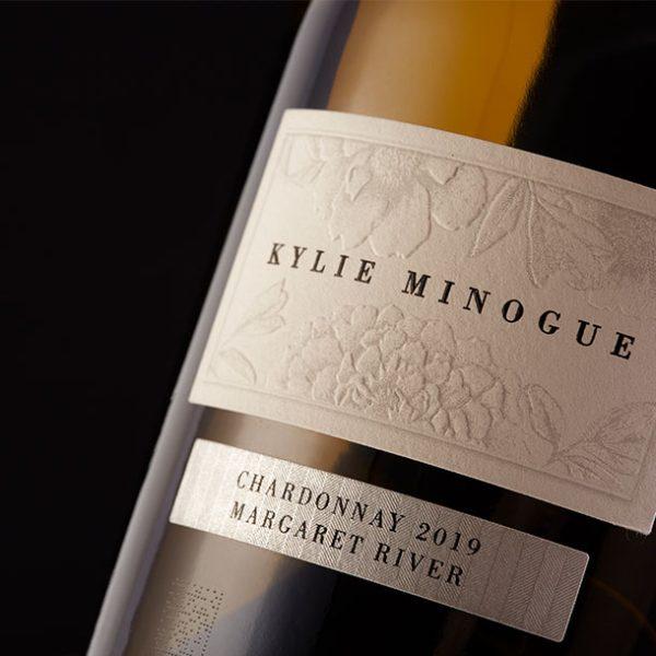 Kylie Minogue Chardonnay Label