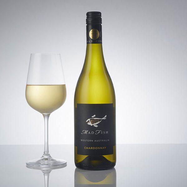 Mad Fish Chardonnay Glass