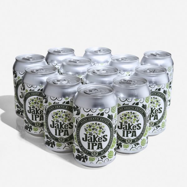 case of 12 Jakes IPA